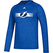 adidas Men's Tampa Bay Lightning Journeyman Ultimate Royal Performance Pullover Hoodie