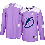 adidas Men's Tampa Bay Lightning Hockey Fights Cancer Authentic Pro Jersey