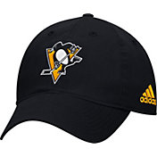 adidas Men's Pittsburgh Penguins Basic Black Slouch Adjustable Hat