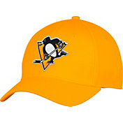 adidas Men's Pittsburgh Penguins Alternate Colored Basic Structured Gold Flex Hat