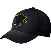 adidas Men's Pittsburgh Penguins Tonal Structured Black Flex Hat