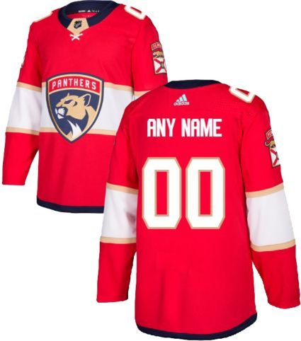 adidas Men s Custom Florida Panthers Authentic Pro Home Jersey ... f2ad2946b