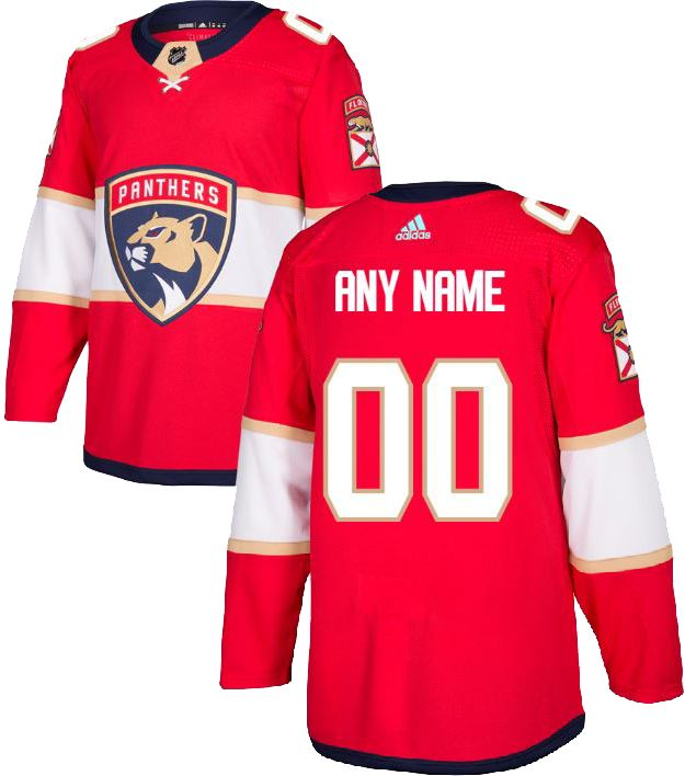 35746db5d adidas Men's Custom Florida Panthers Authentic Pro Home Jersey ...