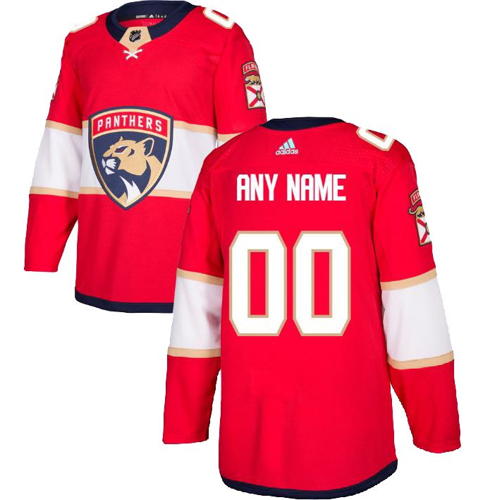 huge selection of 45b38 637d5 adidas Men's Custom Florida Panthers Authentic Pro Home Jersey