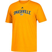adidas Men's Nashville Predators Smashville Gold T-Shirt