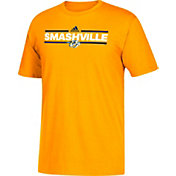 adidas Men's Nashville Predators Dassler Gold T-Shirt