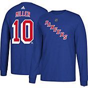 adidas Men's New York Rangers J.T. Miller #10 Royal Long Sleeve Shirt