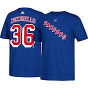adidas Men's New York Rangers Mats Zuccarello #36 Royal T-Shirt