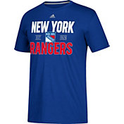 adidas Men's New York Rangers The Go-To Royal Performance T-Shirt
