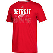 adidas Men's Detroit Red Wings The Go-To Red Performance T-Shirt