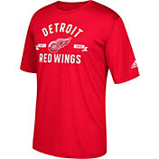 adidas Men's Detroit Red Wings Misconduct Performance Red T-Shirt