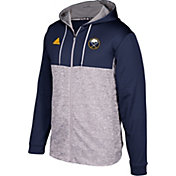 adidas Men's Buffalo Sabres Navy/Grey Full-Zip Hoodie