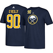 adidas Men's Buffalo Sabres Ryan O'Reilly #90 Navy T-Shirt