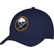 adidas Men's Buffalo Sabres Team Colored Basic Structured Navy Flex Hat