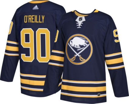adidas Men s Buffalo Sabres Ryan O Reilly  90 Authentic Pro Home ... 7feadfcc0
