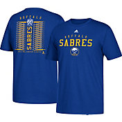 adidas Men's 2018 Winter Classic Buffalo Sabres Lace Roster Blue T-Shirt