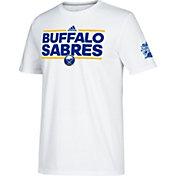 adidas Men's 2018 Winter Classic Buffalo Sabres Dassler White T-Shirt