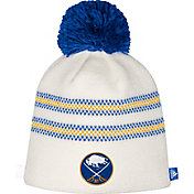 adidas Women's 2018 Winter Classic Buffalo Sabres Pom White Beanie