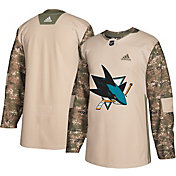 adidas Men's San Jose Sharks Camo Authentic Pro Jersey