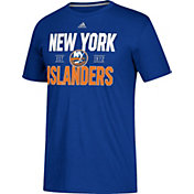 adidas Men's New York Islanders The Go-To Royal Performance T-Shirt