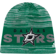 adidas Men's Dallas Stars Locker Room Green Knit Beanie