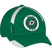 adidas Men's Dallas Stars Practice Structured Green Flex Hat
