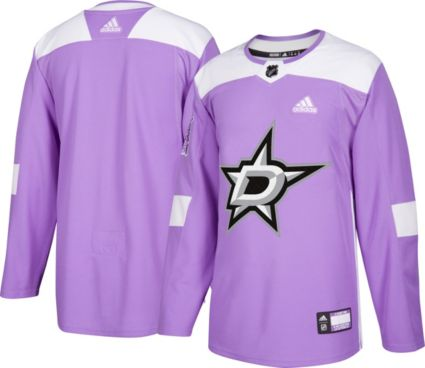 adidas Men s Dallas Stars Hockey Fights Cancer Authentic Pro Jersey ... 37b4d2e94