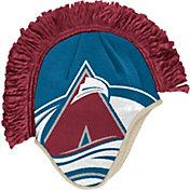 adidas Men's Colorado Avalance Mohawk Blue Knit Beanie