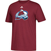 adidas Men's Colorado Avalanche Big Logo Burgundy T-Shirt