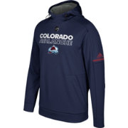 adidas Men's Colorado Avalanche Authentic Pro Player Navy Performance Pullover Hoodie