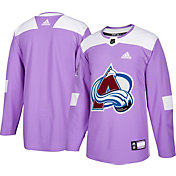 adidas Men's Colorado Avalanche Hockey Fights Cancer Authentic Pro Jersey