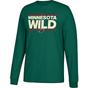 adidas Men's Minnesota Wild Dassler Green Long Sleeve Shirt