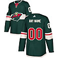 adidas Men's Custom Minnesota Wild Authentic Pro Home Jersey