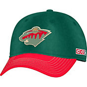 CCM Men's Minnesota Wild Team Color Green Slouch Adjustable Hat