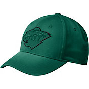 adidas Men's Minnesota Wild Tonal Structured Green Flex Hat