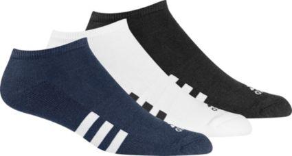 adidas No Show Socks - 3 Pack
