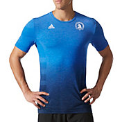 adidas Men's Boston Marathon Primeknit Wool Dip Dye Running T-Shirt