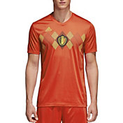 adidas Men's Belgium Replica Home Red Stadium Jersey