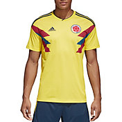 adidas Men's Colombia Replica Home Yellow Stadium Jersey