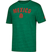 adidas Men's Mexico City Worn Green Heathered T-Shirt