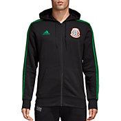 adidas Men's 2018 FIFA World Cup Mexico Black Full-Zip Hoodie
