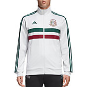 adidas Men's Mexico Anthem White Jacket