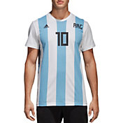adidas Men's 2018 FIFA World Cup Argentina Lionel Messi #10 T-Shirt