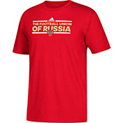 adidas Men's Russia Local Dassler Red T-Shirt