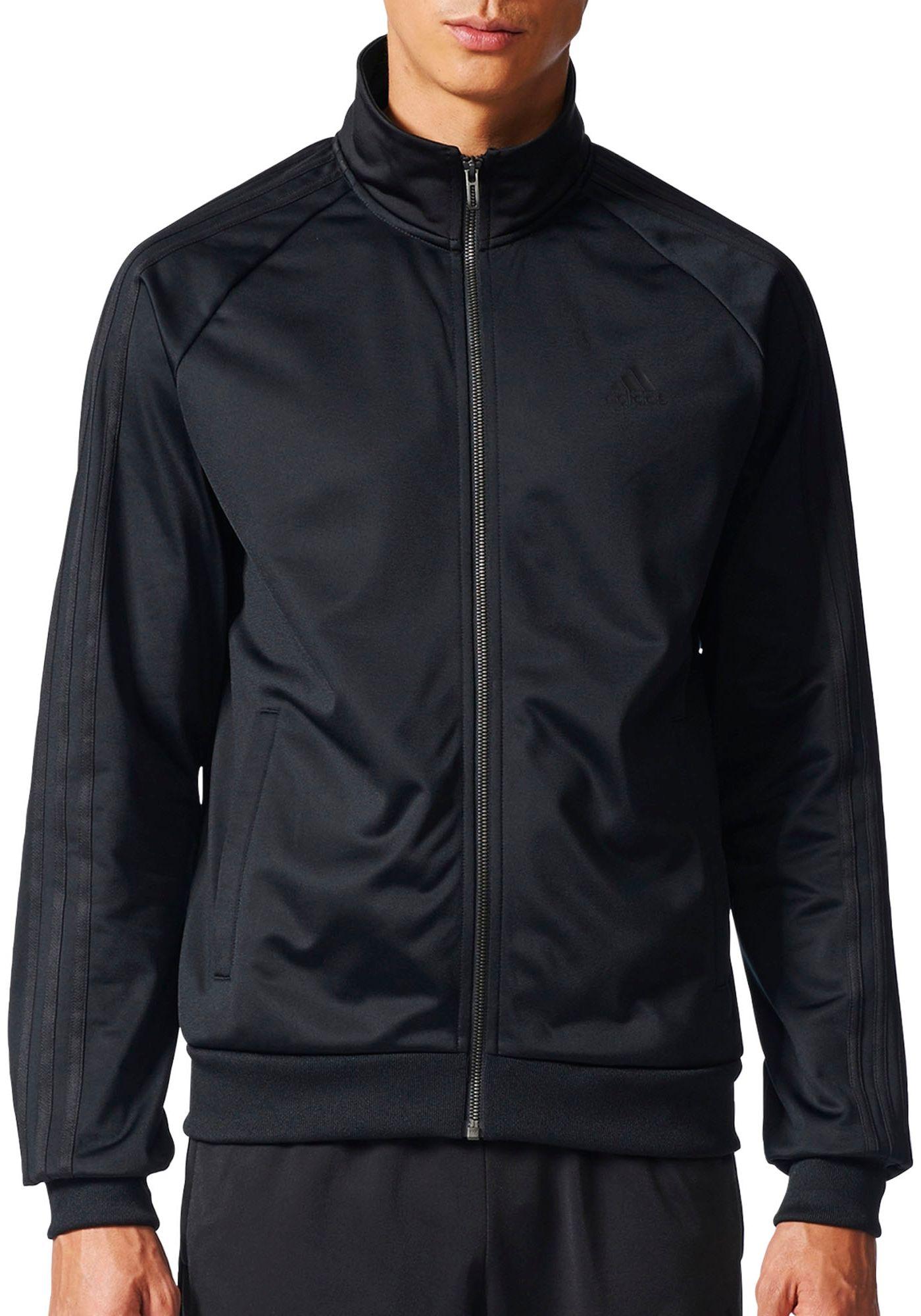 adidas Men's Essentials 3-Stripes Track Jacket