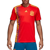 adidas Men's Spain Replica Home Red Stadium Jersey