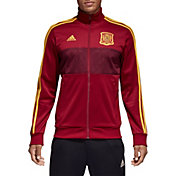 adidas Men's 2018 FIFA World Cup Spain Maroon Track Jacket