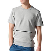 adidas Men's Sport ID Crew Short Sleeve Sweatshirt