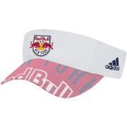 adidas New York Red Bulls Authentic Team Adjustable Visor