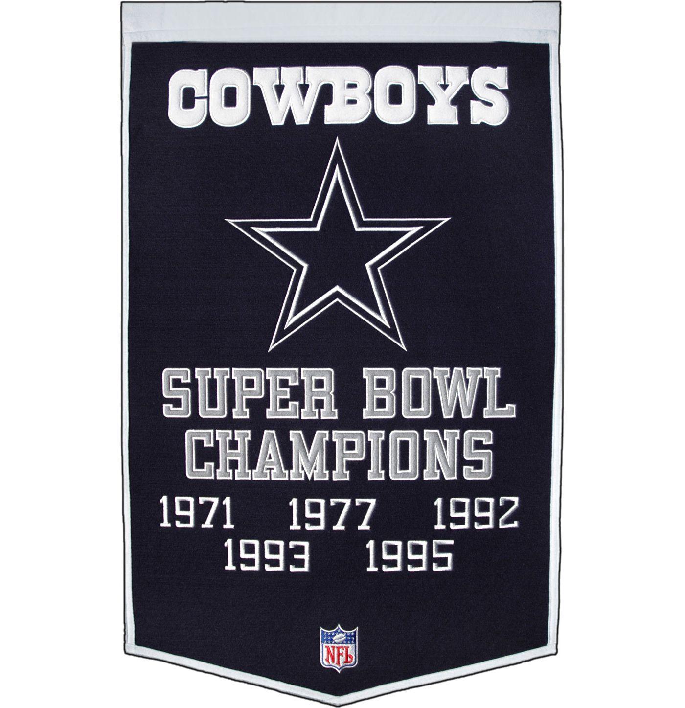 Winning Streak Dallas Cowboys Dynasty Banner